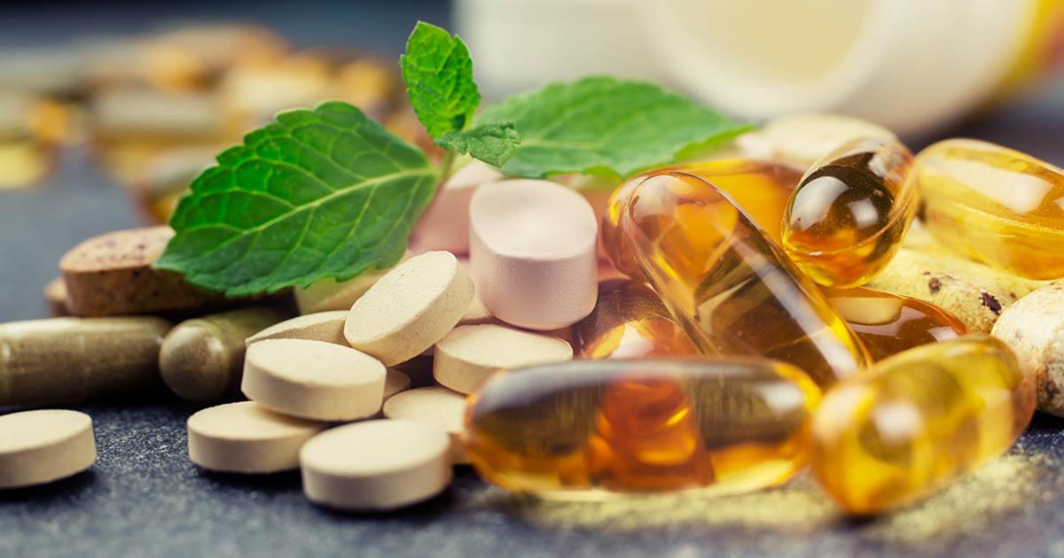 Various natural supplements