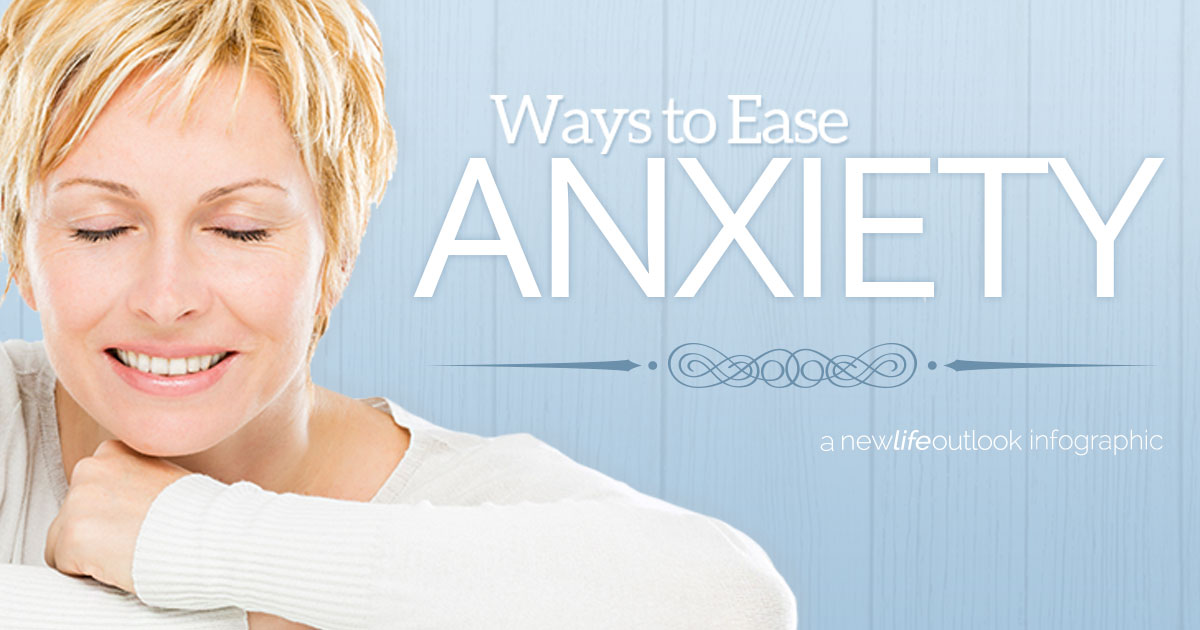 AFIB Infographic - How to Ease Your Anxiety With AFib