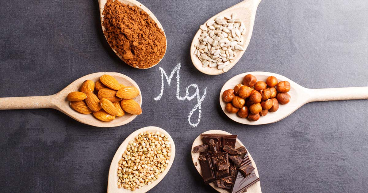 Different sources for magnesium